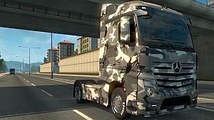 Mercedes Actros MPIV Camo skin