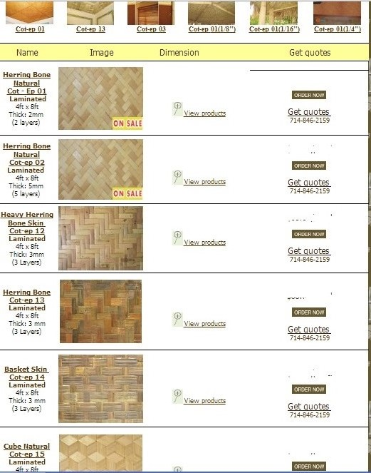 Quality Bamboo And Asian Thatch Buy Bamboo Wainscoting
