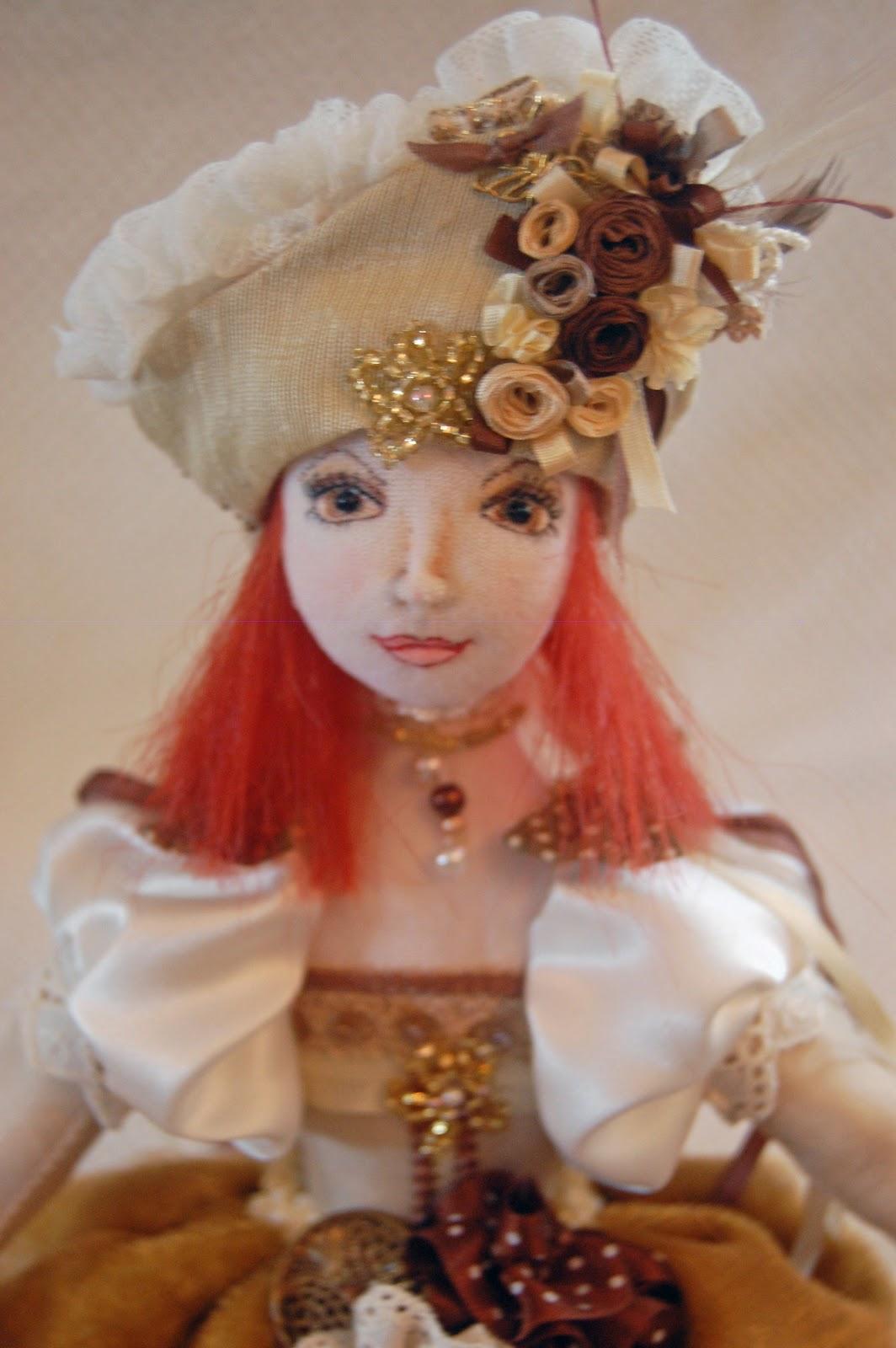 Barbara Lynn Payne Poffo My second doll was from cloth doll artistry ...