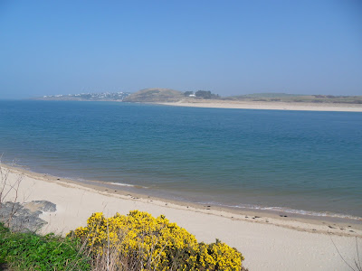 View from cliffs at Padstow, Cornwall
