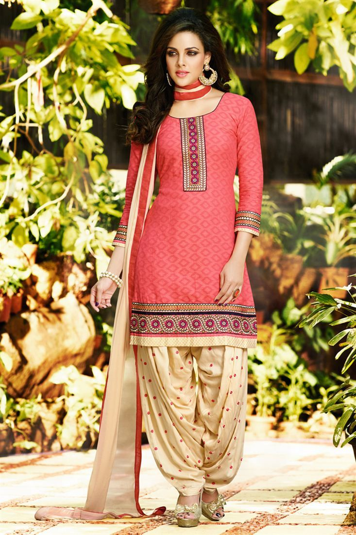 Latest Indian Fashion Trends Designer Patiala Suits