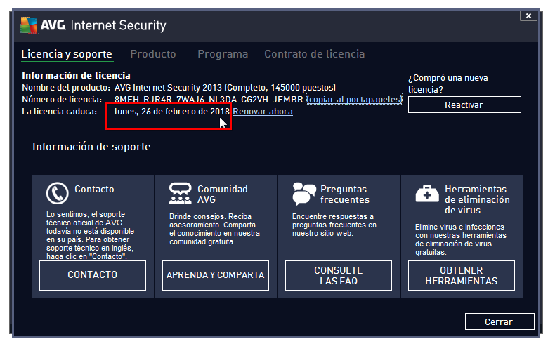 Como descargar AVG Internet Security 2014 en 1 Link