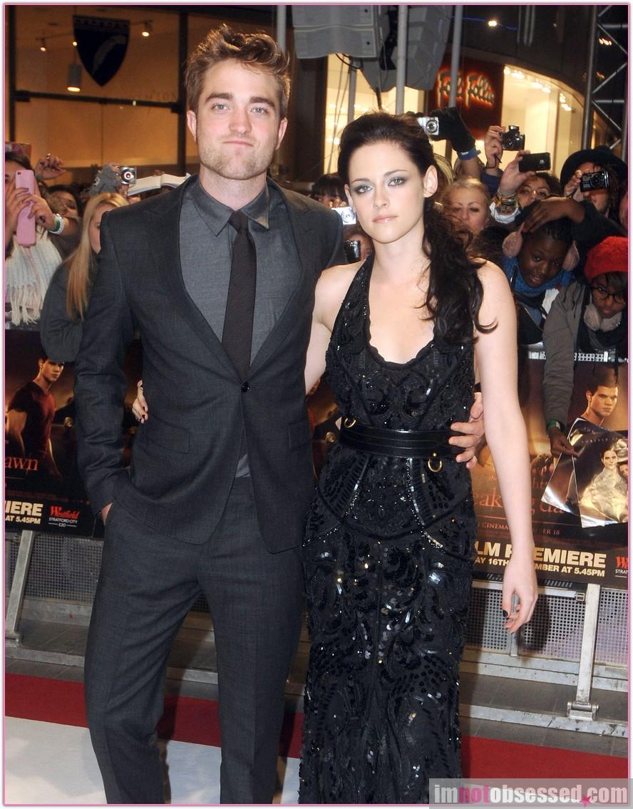 Robert and Kristen .