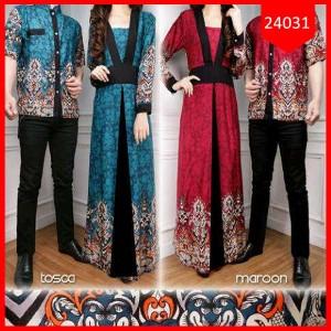 Busana: Dress Batik Couple Yundirta Rein (BBB-082)
