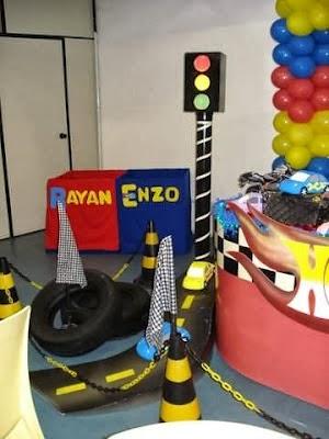 Fiestas Infantiles Hot Wheels, parte 2