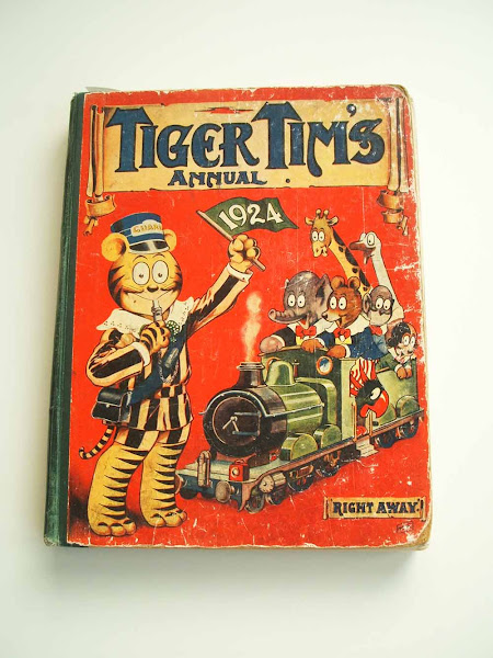 tiger tim, annual, gift, chiristmas, tradition, 1924, front cover