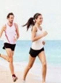 Dengan olahraga dapat menjaga kesehatan agar tetap cantik dan awet muda