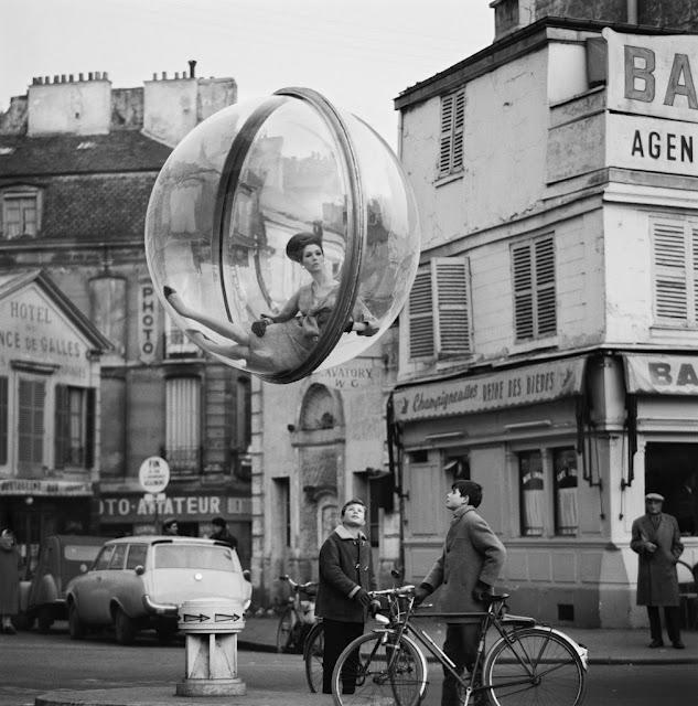 Doctor Ojiplático. Melvin Sokolsky. Paris 1963