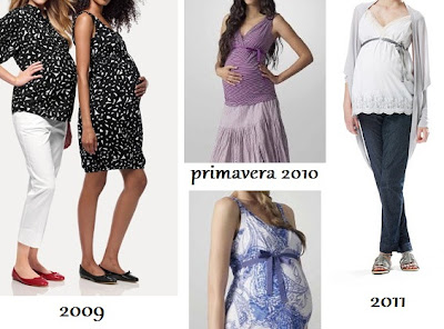 ropa premama de Benetton 2009, 2010, 2011