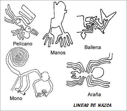 Lineas de nazca dibujo - Imagui