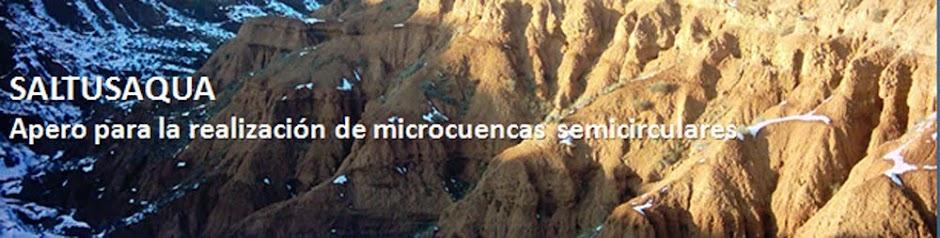 Saltusaqua, apero para la realización de microcuencas semicirculares