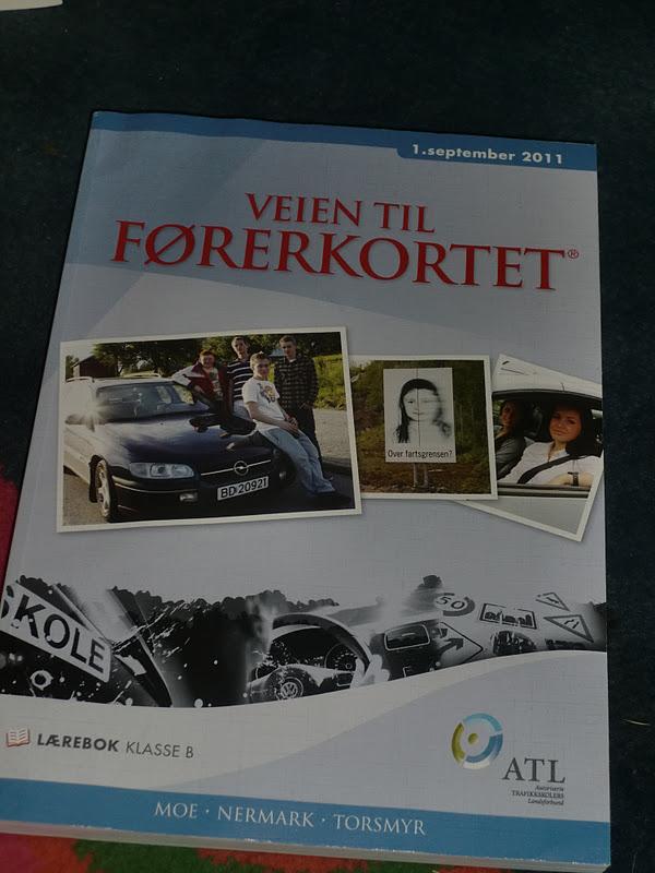 førerkortet lærebok klasse b