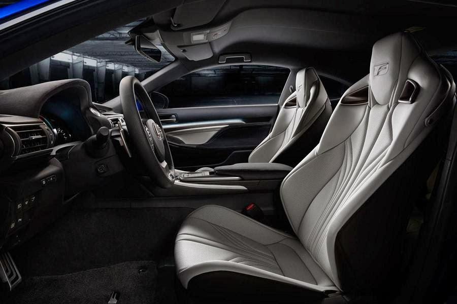 Lexus RC F (2014) Interior