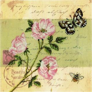 RTO, Почтовая открытка, Шиповник