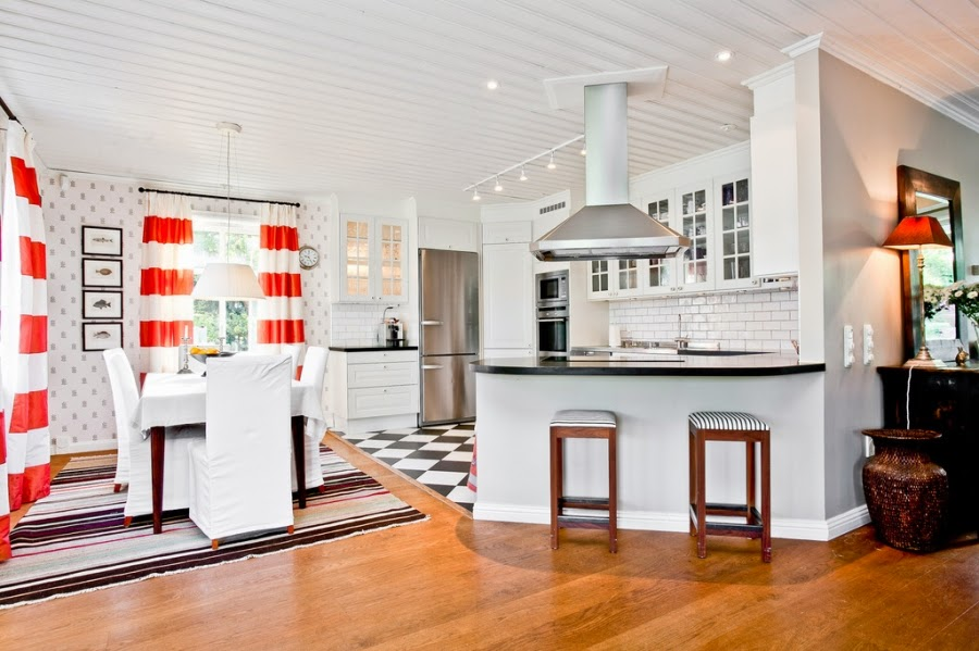 wystrój wnętrz, wnętrza, home decor, dom, mieszkanie, styl tradycyjny, styl klasyczny, białe wnętrza, kuchnia