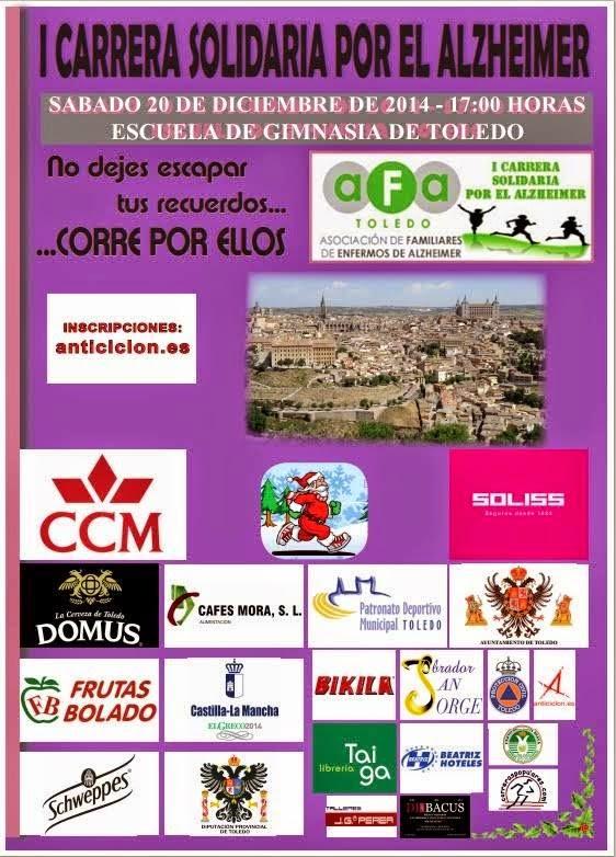 I Carrera Solidaria por el Alzheimer en Toledo