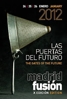 PROGRAMA MADRID FUSIÓN 2012