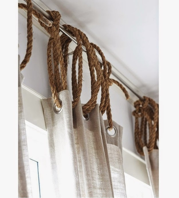 http://www.remodelista.com/posts/diy-rope-as-curtain-attachment