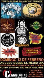 Festival de Amor Ska Amistad y Desmadre