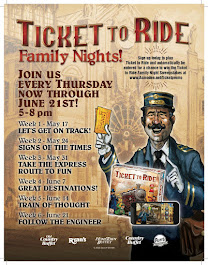 Out of 640 Entries Congrats Lori M-C! You WON Dinner For 4 & Ticket to Ride Download ($58 Value)