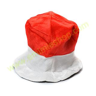 topi bola merah putih