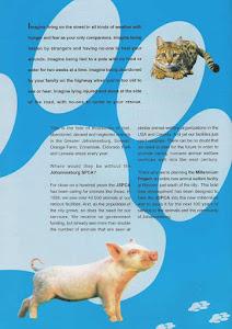 Johannesburg SPCA Millennium Project