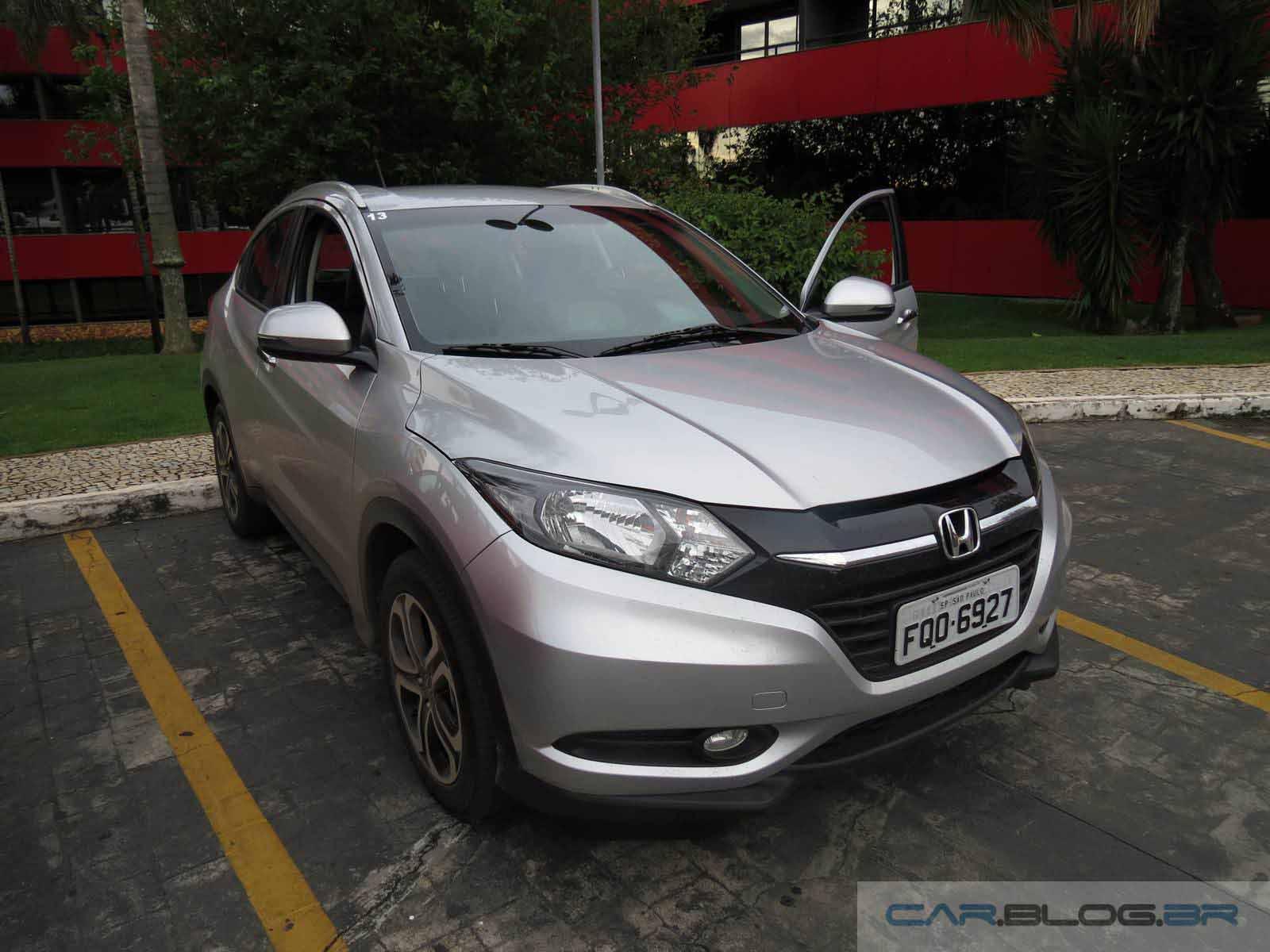 Honda HR-V EXL - Prata - frente