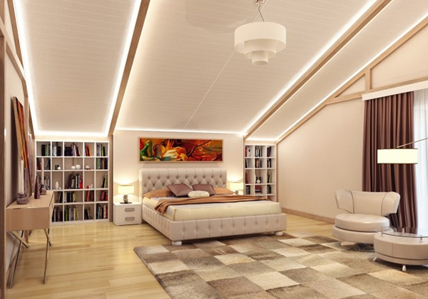 kamar tidur desain pencahayaan lampu hias kamar tidur