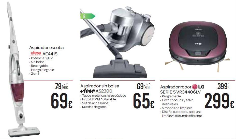 Carrefour catalogo aspiradoras carrefour 2015 for Aspirador escoba carrefour