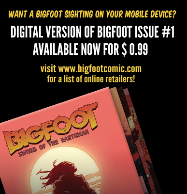 bigfoot sword earthman digital comic book ebook itunes amazon barbarian graphic novel