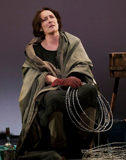 Fiona Shaw stars in Colm Toibin's The Testament of Mary.