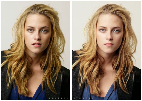 Kristen-Stewart antes y despues photoshop