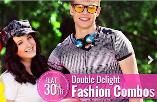 Flat 30% Discount on Fashion Combos (Clothing / Footwear / Fashion Accessories)