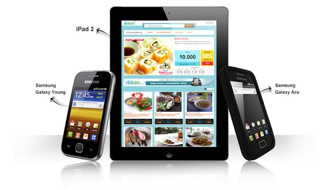 Hadiah Lomba Blog Review dari Diskon.com - JogjaCamp - Ipad, Samsung Galaxy, Voucer, Uang Tunai dan Lainnya