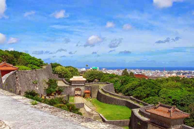 Naha,ocean view,Shurijo Castle,UNESCO
