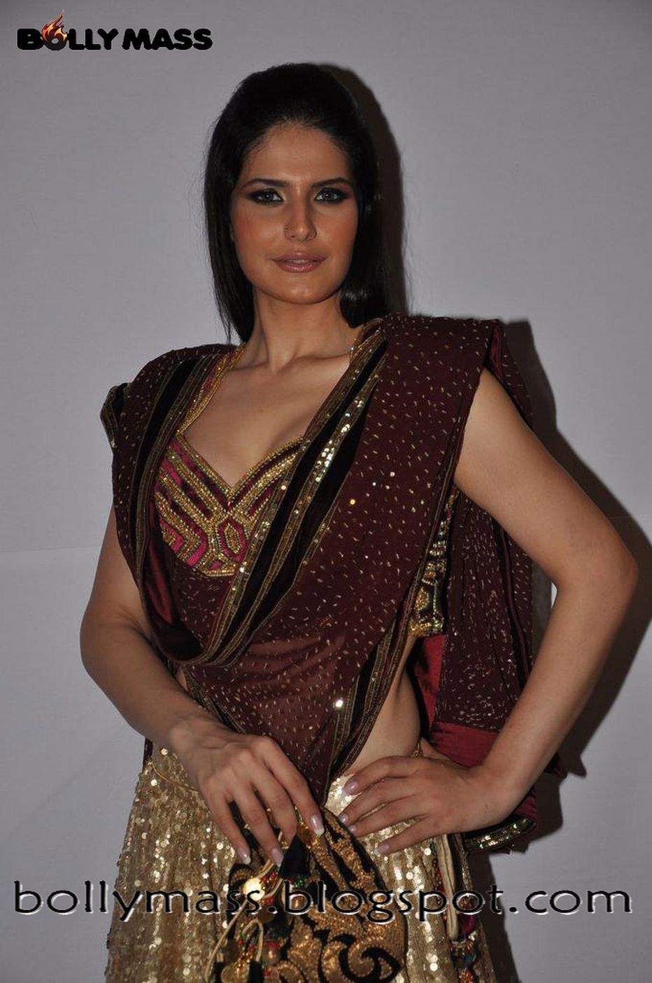 Zarine Khan Hot Stills Blenders Pride Fashion Tour Event Cinema