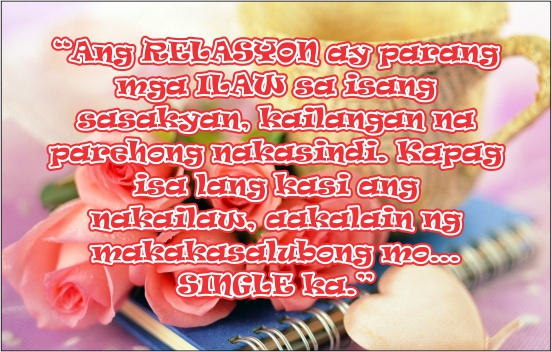 Image of: Love Tagalog Relationship Quotes Quotesonimages Our Daily Filipino Quotes Tagalog Quotes About Relationship