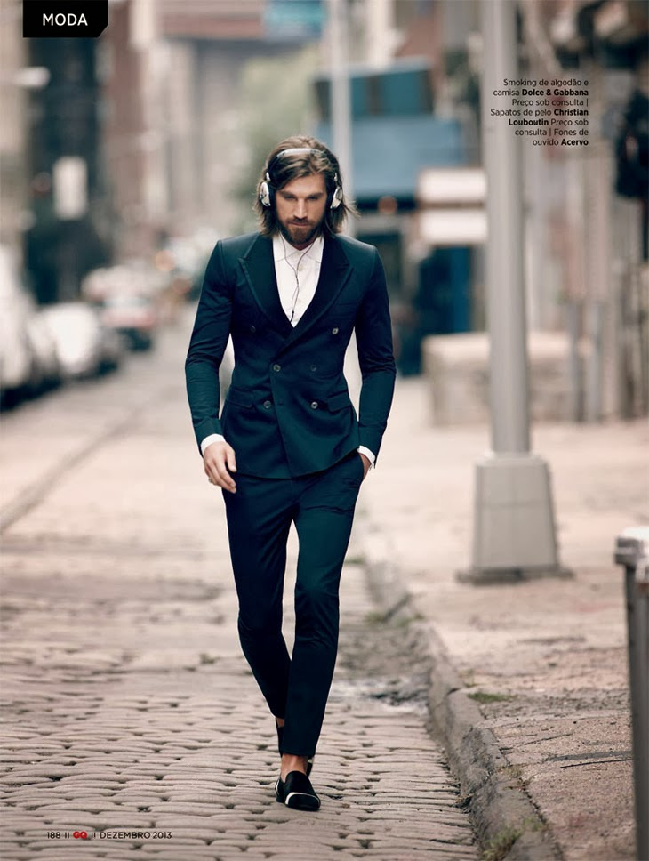 Mike Kagee Fashion Blog Street Style Dandi The Latest Editorial In Gq Brazil December 2013