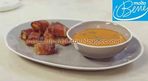 Tomato soup e bocconcini di zucca ricetta Parodi per Molto Bene su Real Time