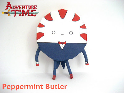 Adventure Time – Peppermint Butler Papercraft