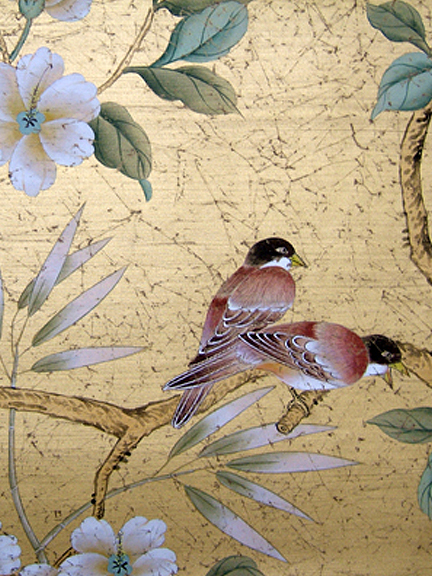 Chinoiserie Chic Metallics At Paul Montgomery Studio