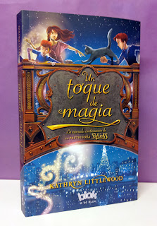 Portada del libro Un toque de magia