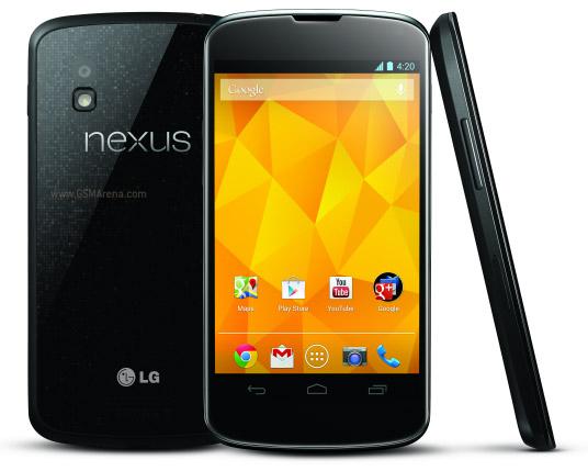 Full Specs of LG Nexus 4 E960