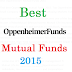 Best Oppenheimer Mutual Funds 2015 & 2016