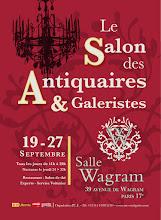 PARIS 17ÈME : SALON DES ANTIQUAIRES ET GALERISTES DE LA SALLE WAGRAM