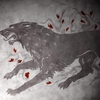 Thrones Sigil Hbo House Stark