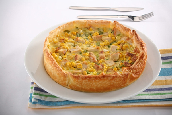 """Resultado de imagen para """"Tarta Pie de pollo y hongos"""