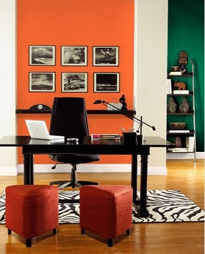 Pintar las paredes de una oficina ideas para decorar for Como es una oficina