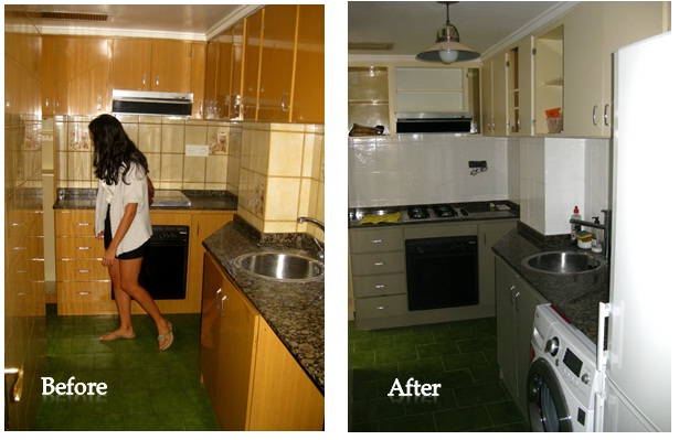 Kp decor studio antes y despues before and after - Reforma cocina barata ...