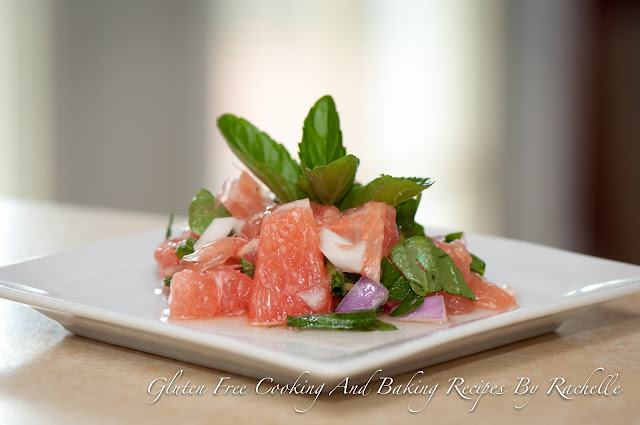 Ruby Red Minty Grapefruit Salad
